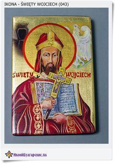 Polska ikona Święty Wojciech na prezent (043)