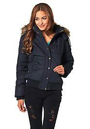 Marken Jacken zu Top-Preisen von Quelle Mantel, Winter Jackets, Leather Jacket, Tops, Women, Fashion, Sporty Look, Back Stitch, Cowl