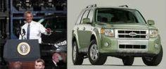 تمام خودروهای شخصی روسای جمهور آمریکا