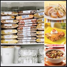 Freezer Crock Pot Recipes for the Month on a budget! Only lists 3 recipes though unable to find rest. Make Ahead Freezer Meals, Crock Pot Freezer, Freezer Cooking, Crockpot Meals, Easy Meals, Freezer Burn, Freezer Dinner, Simple Meals, Frugal Meals