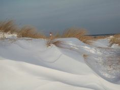 Snow at the Beach