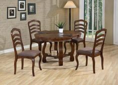 30 Best Oval Tables Ideas You'll Love - InteriorSherpa Circular Table, Oval Table, White Dining Set, Dining Chairs, Dining Table, Architectural Features, Kitchen Cabinetry, Table Legs, Dark Wood