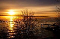Jezero, Západ Slunce, Druhá Strana