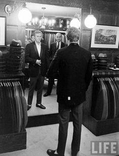 Steve McQueen shopping