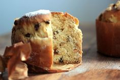 Almond and Ginger Kulich #TwelveLoaves | Vintage Kitchen Notes