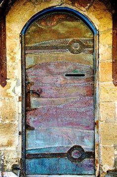 Truly mystical, magical doors... (Jaffa, Israel)