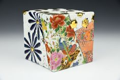 Gillian Parke Decorative Boxes, Surface, Porcelain, Clay, Pottery, Ceramics, Artists, Crystals, Studio