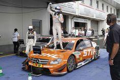 First DTM victory for Mercedes Junior Robert Wickens, Nürburgring, Aug 18, 2013 #DTM #MercedesBenz #AMG