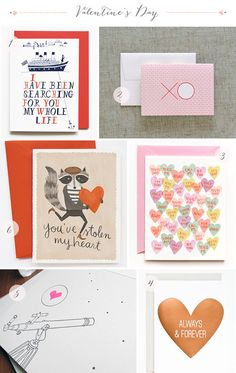 Valentine's Day Card Round Up via Oh So Beautiful Paper
