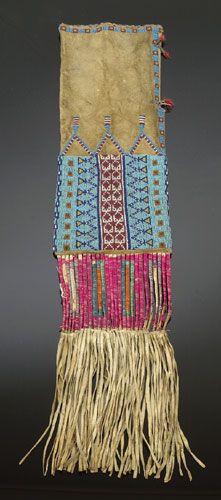 b1457.jpg (221×500) Lakota? Pipe Bag