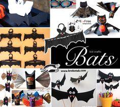 Bats - kid crafts