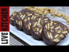 Κορμός Ψυγείου Απόλαυση ( Μωσαϊκό) - Chocolate Salami Dessert Live Kitchen - YouTube