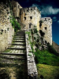 The Klis Fortress is a medieval fortress situated above a village bearing the same name, near the city of Split, in central Dalmatia, Croatia.