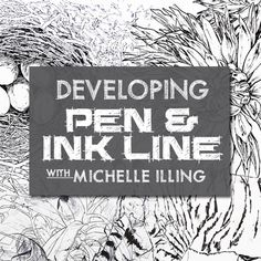 Learn how to create characterful ink drawings using a range of different tools and with a variety of different styles.  In this course, you'll learn foundational techniques for using  dip pens, brush pens, biros, ball points, natural bamboo, fibre tipped pens and technical pens. Course tutor Michele will guide you through a range of techniques - like creating basic line drawings, detailed cross hatching and line & wash.