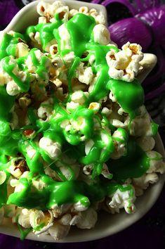 Ghostbusters Ectoplasm Slimed Popcorn
