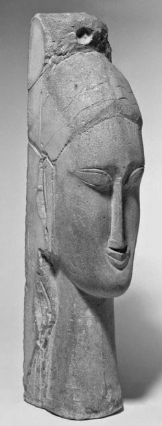 Amedeo Modigliani - Tête de femme, 1912