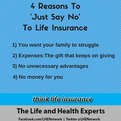 Think Life Insurance #LifeInsurance #InsureYourLove. Insurance QuotesLife  Insurance