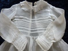 Vintage communion dress French