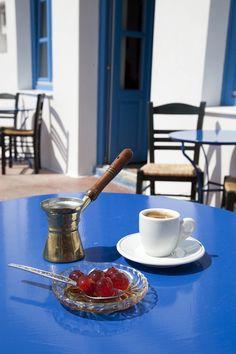 Greek Coffee + Teaspoon Sweet°°