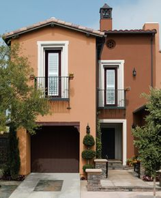 Warm Earth Tones Exterior By Behr Paint