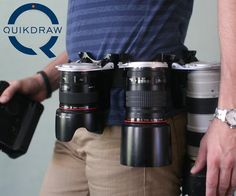 Some day I will need this - Quickdraw Camera Lens Holster