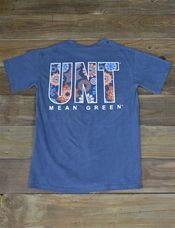 Enjoy this new Boho Dream University of North Texas t-shirt! This Comfort Color is super trendy for spring! Go Mean Green!