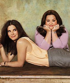 Sandra Bullock and Melissa McCarthy - their new movie is going to be hysterical!