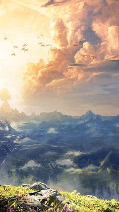The Legend of Zelda: Breath of the Wild Wallpapers – BirchTree Legend Of Zelda Memes, Legend Of Zelda Breath, The Legend Of Zelda, Legend Of Zelda Tattoos, Breath Of The Wild, Scenery Wallpaper, Wallpaper Backgrounds, Iphone Wallpaper Zelda, Botw Zelda