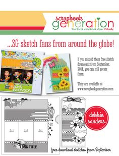 ISSUU - CREATE: Issue 11, November 2014 by Scrapbook Generation