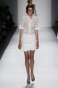 Spring 2013 Trend: About Lace (Tracy Reese RTW Spring 2013)