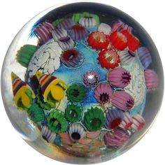 STEVEN LUNDBERG - Personally Signed Unusual Paperweight With Fish and Barnacles from Barkus Farm Antiques, Collectibles and Fine Art on Ruby Lane