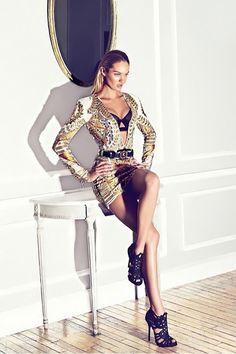 Candice Swanepoel Harper's Bazaar Spain Fashion Editorial
