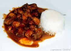 Kurczak po wietnamsku - przepis ze Smaker.pl Grains, Curry, Rice, Beef, Food, Meat, Curries, Essen, Meals