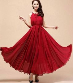 fd098abb2da Red Bridesmaids Dress Red Maxi Dresses Teens And Adult Women ... Red  Bridesmaid Dresses