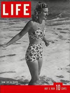 LIFE Magazine July 3, 1939 - Swimsuits