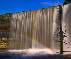 Jagala Falls, Tallinn, Estonia    From Travel + Leisure - Courtesy of Estonian Experience - Private Tallinn Tours & Baltic Tours - #Tallinn #Estonia - http://estonianexperience.com