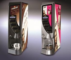 Fairtrade Beverage Systems hot beverage machines that dispense Van Houten and Drink Me Chai drinks