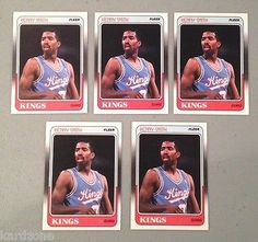cool LOT OF 5 KENNY SMITH 1988-89 FLEER ROOKIE BASKETBALL CARDS # 100 TNT COMMENTATOR - For Sale View more at http://shipperscentral.com/wp/product/lot-of-5-kenny-smith-1988-89-fleer-rookie-basketball-cards-100-tnt-commentator-for-sale/