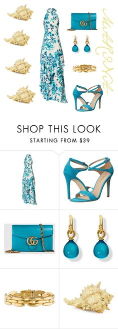 """""""33 degrees in Greece! !"""" by marifimarina ❤ liked on Polyvore featuring Exclusive for Intermix, Via Spiga, Gucci and Cartier"""
