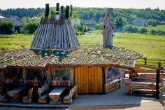 Chochołowy Dwór - drewniana chata grillowa - wyśmienite jedzenie i mnóstwo atrakcji na świeżym powietrzu. #open #air #weekend #hotel #Cracow