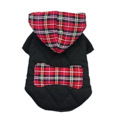Stylish Casual Dog Plaid Coat Gentle Dog Western Coat Cozy Dog Clothes for Pet Coat Free Shipping,Red Hoodie,L « Pet Lovers Ads