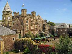 Craig y Nos Castle Hotel wedding venue in Penycae, Nr Abercrave, Swansea Valley (near Cardiff), Powys, Wales, UK