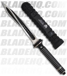 "Microtech Semi-Custom Jagdkommando Knife Fixed Blade (7.13"" Two-Tone Black)"