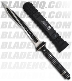 "Microtech Semi-Custom Jagdkommando Knife Fixed Blade (7.13"" Two-Tone Black)"