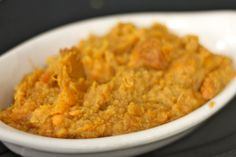 GW Fins' Mashed Sweet Potatoes with Bourbon and Vanilla