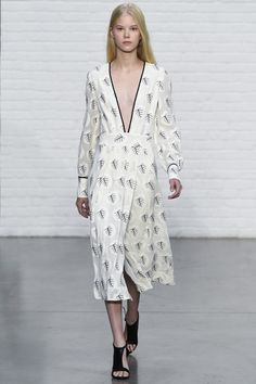 Yigal Azrouël printemps-été 2015 #mode #fashion