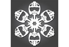 DIY a Hoth Winter Wonderland With Star Wars Snowflakes