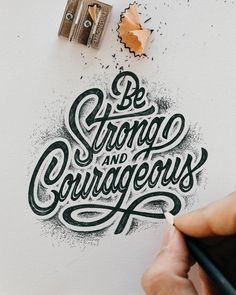 Check out some of the most beautiful hand-lettered quotes to inspire you - hand lettering