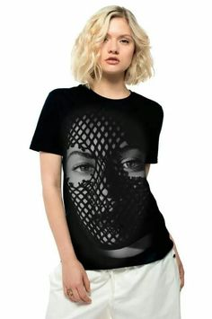 Mesh Mask Tee (Beyonce)