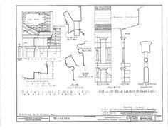 HABS (sheet 15 of - Woodlawn Plantation, State Highway Napoleonville, Assumption Parish, LA Plantation Homes, Library Of Congress, Assumption Parish, Louisiana, Abandoned, Greek, Southern, Miniatures